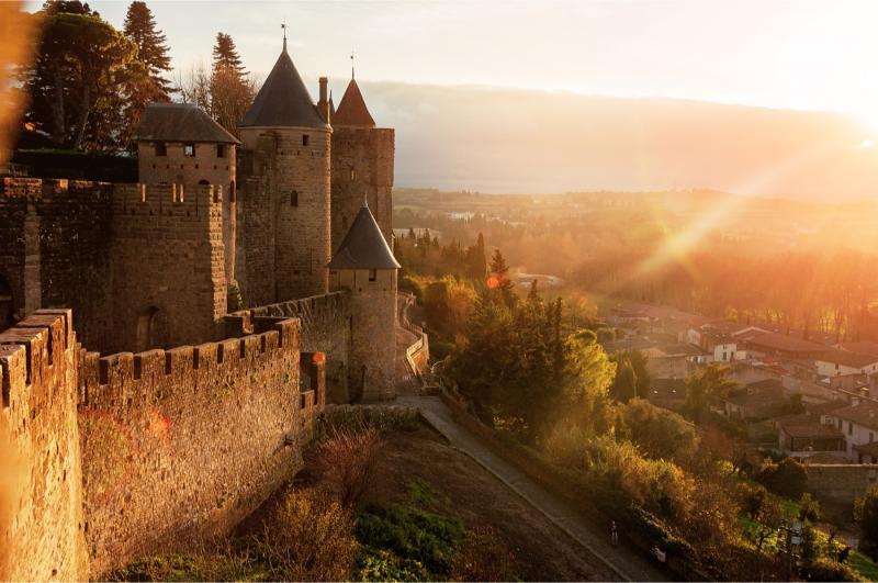 Carcassonne @Shutterstock