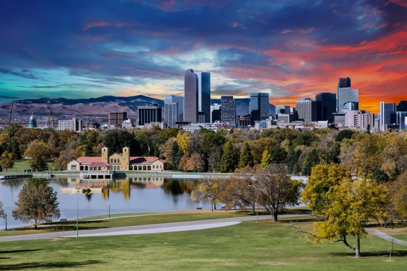Denver, capitale du Colorado