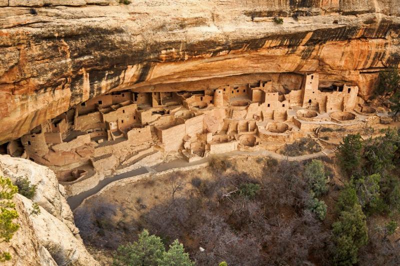 Vestiges de cités indiennes au Mesa Verde National Park @Shutterstock