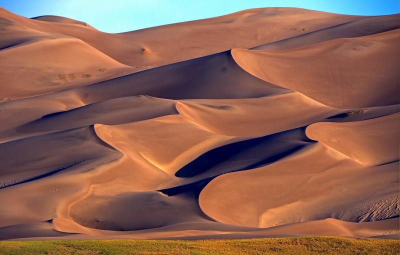 Le Great Sand Dunes National Park abrite les plus hautes dunes de sable d'Amérique du Nord @Shutterstock