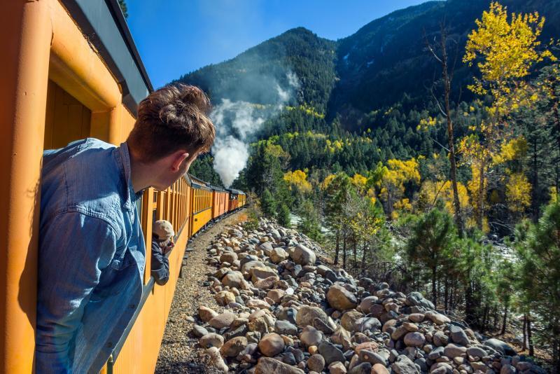 Train à vapeur de Durango & Silverton