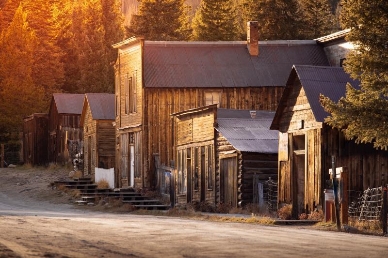 Ville fantôme de Saint Elmo, Colorado