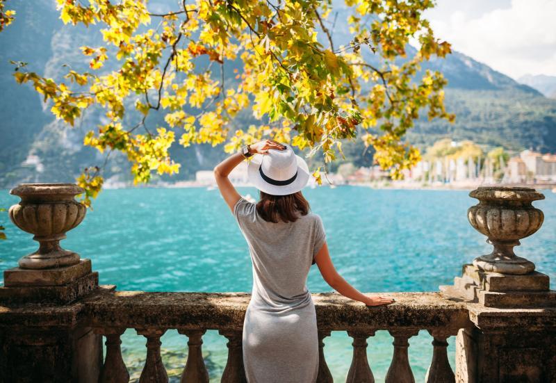 Lac de Garde, en Lombardie.