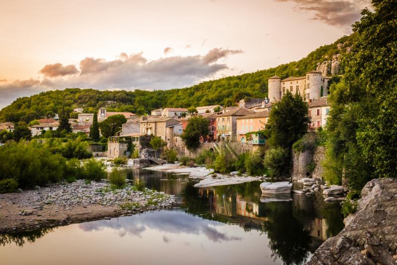 Voguë, Ardèche